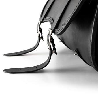Apertura rapida per borse in cuoio