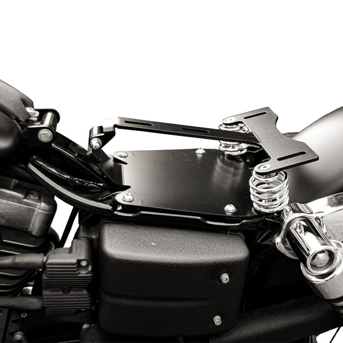 2006-up dyna seat conversion kit - ends cuoio
