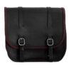 Motorcycle leather saddlebag for harley davidson street - ends cuoio big ben ctr