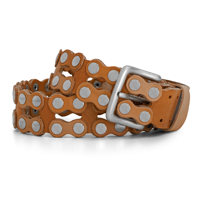 cintura in cuoio - ends cuoio plus Califorina desert tan leather belt