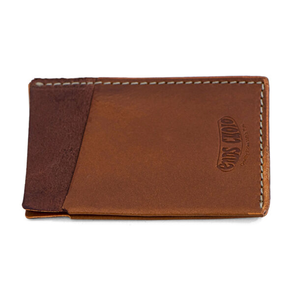 desert tan leather card holder ends cuoio plus