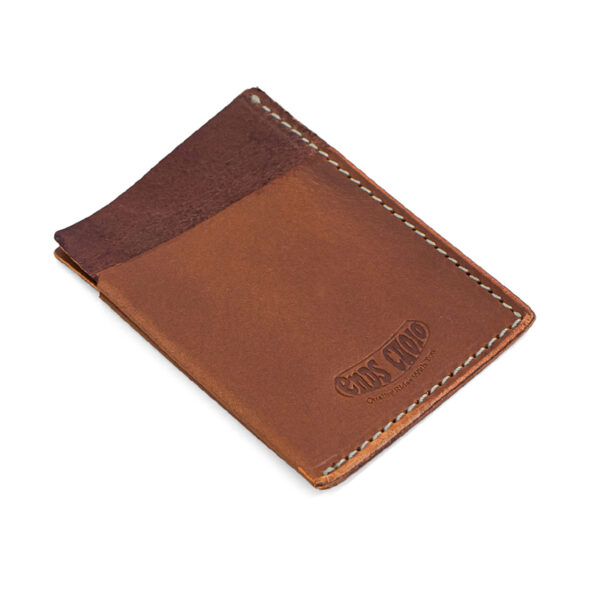 desert tan leather card holder made in italy ends cuoio plus
