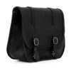 leather saddlebag for harley davidson street - ends cuoio big ben