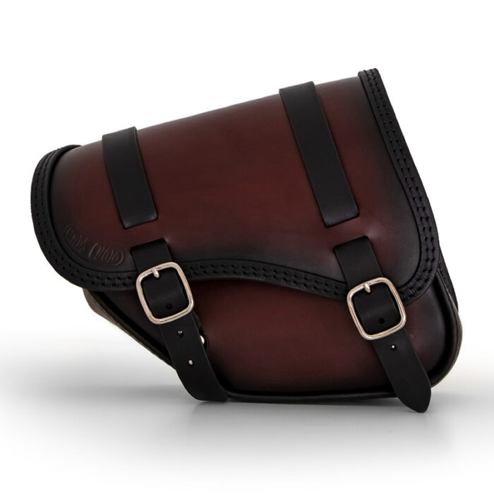 leather saddlebag for indian scout bobber sixty - ends cuoio tomahawk ttd