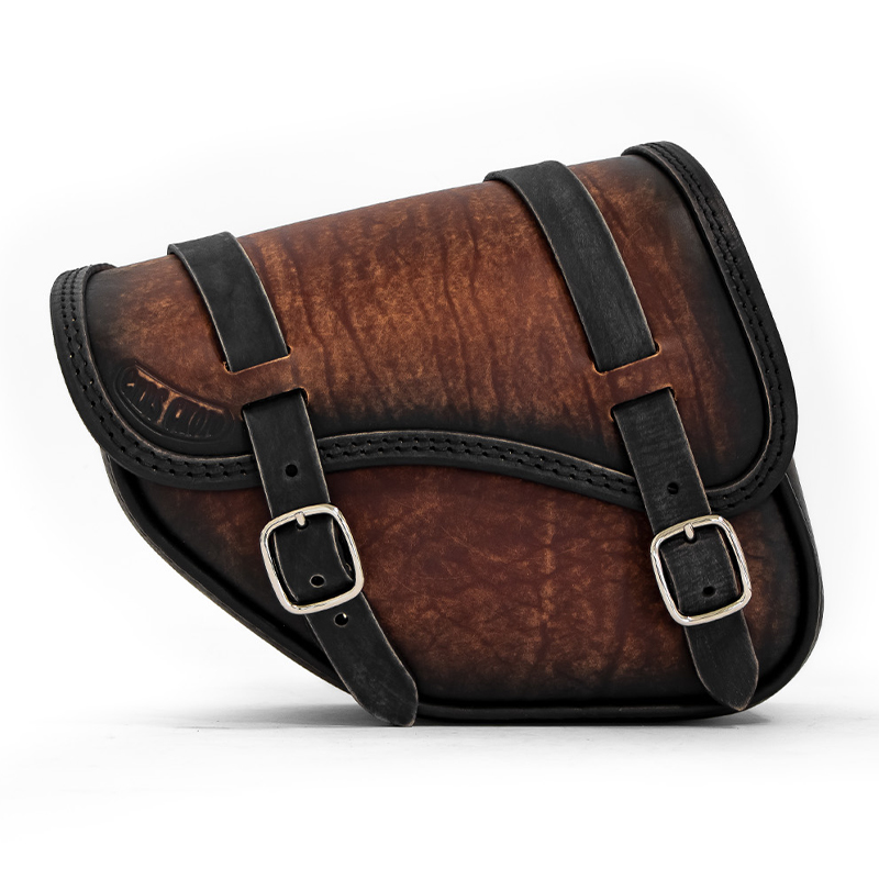 leather saddlebag for indian scout bobber sixty - ends cuoio tomahawk ttdg