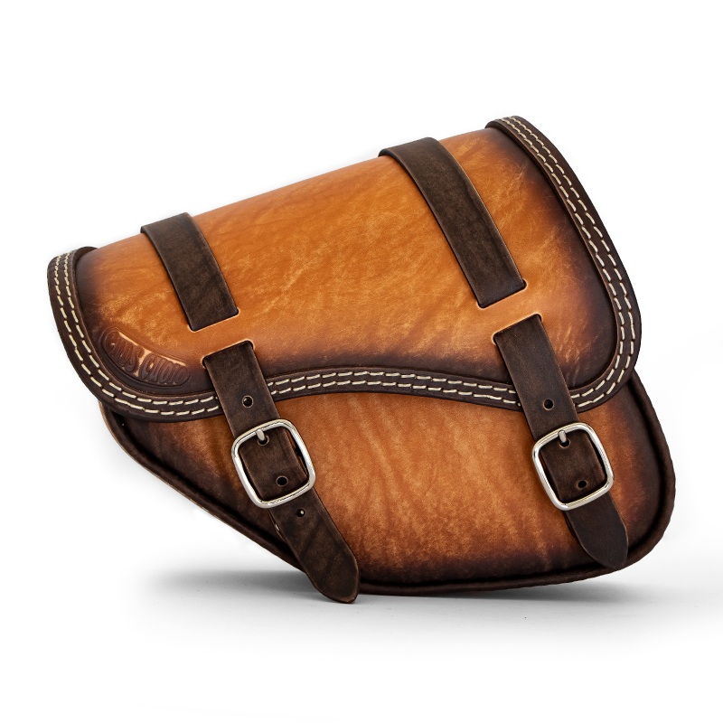 leather saddlebag for indian scout bobber sixty - ends cuoio tomahawk ttg