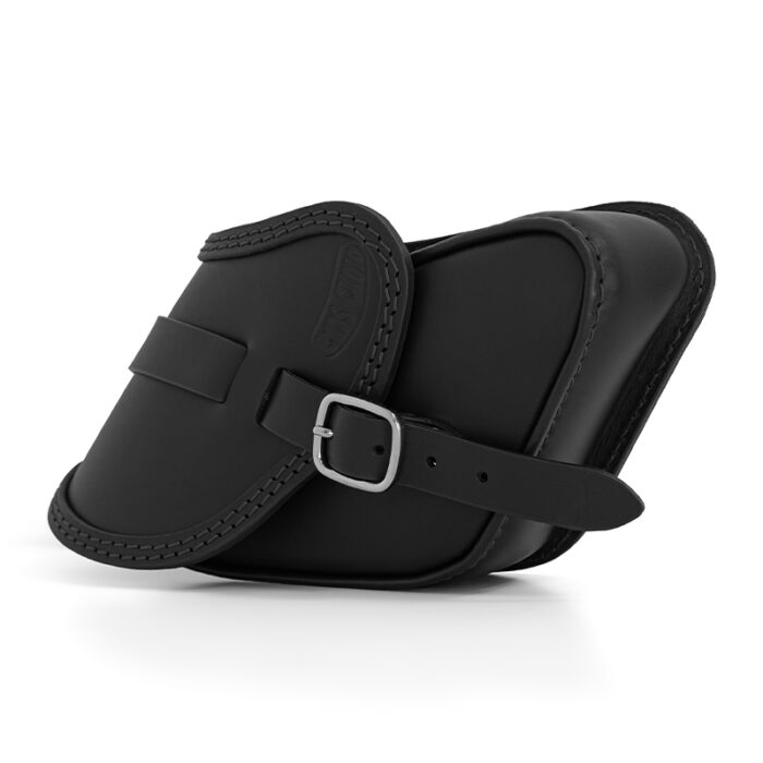 motorcycle leather saddle bag for harley davidson dyna - ends cuoio pop ctn