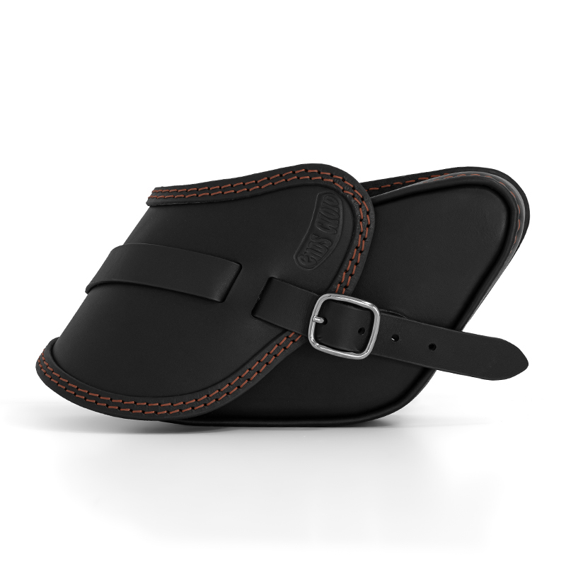 motorcycle leather saddlebag for harley davidson dyna - ends cuoio pop cta