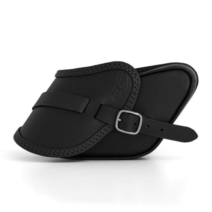 motorcycle leather saddlebag for harley davidson dyna - ends cuoio pop ctn
