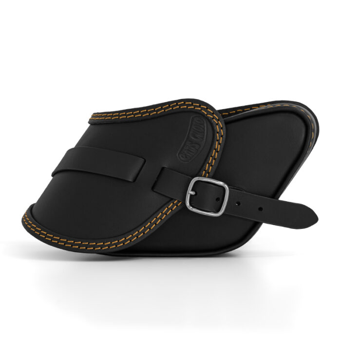motorcycle leather saddlebag for harley davidson dyna - ends cuoio pop ctoc