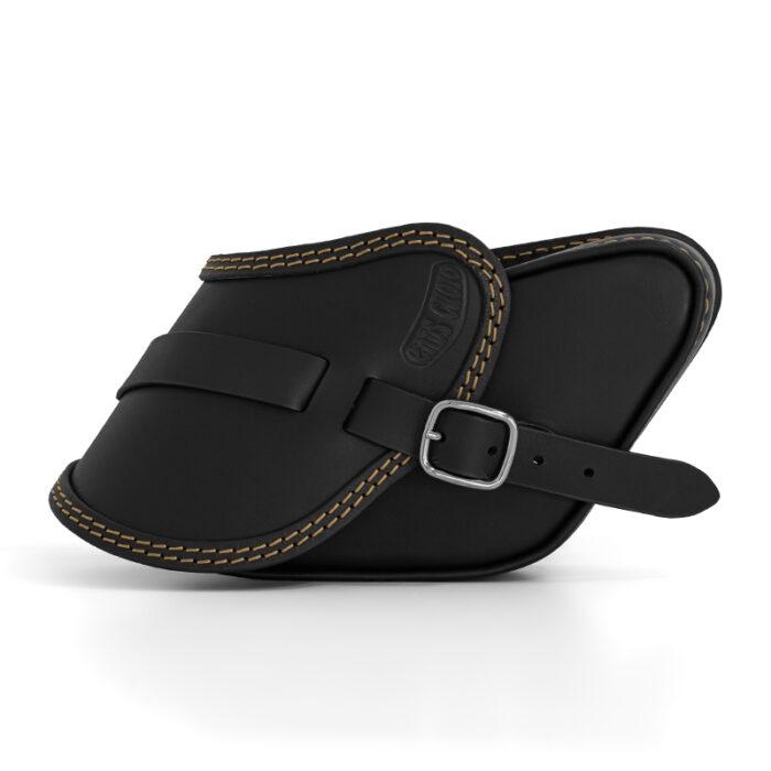 motorcycle leather saddlebag for harley davidson dyna - ends cuoio pop ctor
