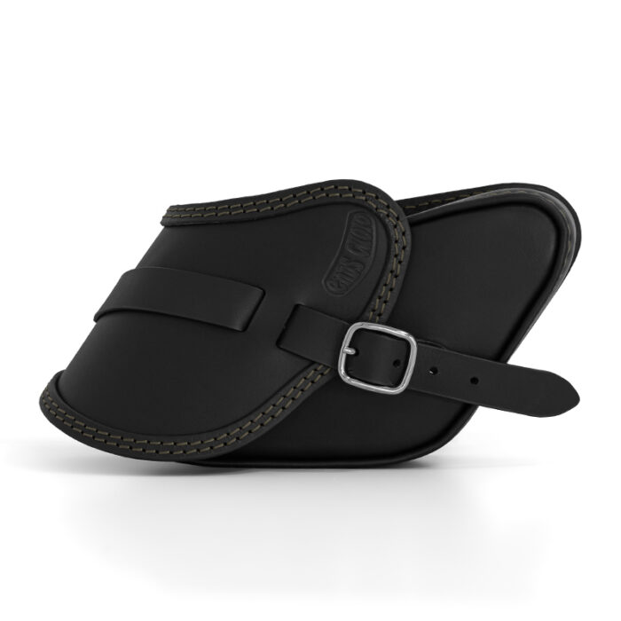 motorcycle leather saddlebag for harley davidson dyna - ends cuoio pop ctv