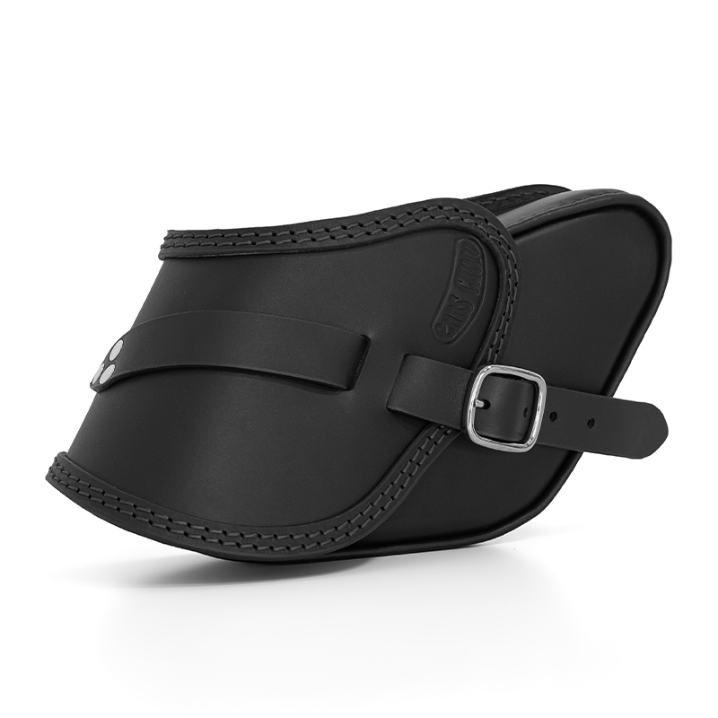 motorcycle leather side bag for harley davidson dyna - ends cuoio pop ctn