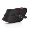 motorcycle leather side bag for harley davidson dyna - ends cuoio pop ctr
