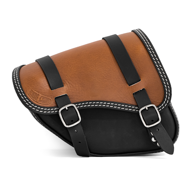 motorcycle leather sidebag for indian scout bobber twenty - ends cuoio tomahawk bic