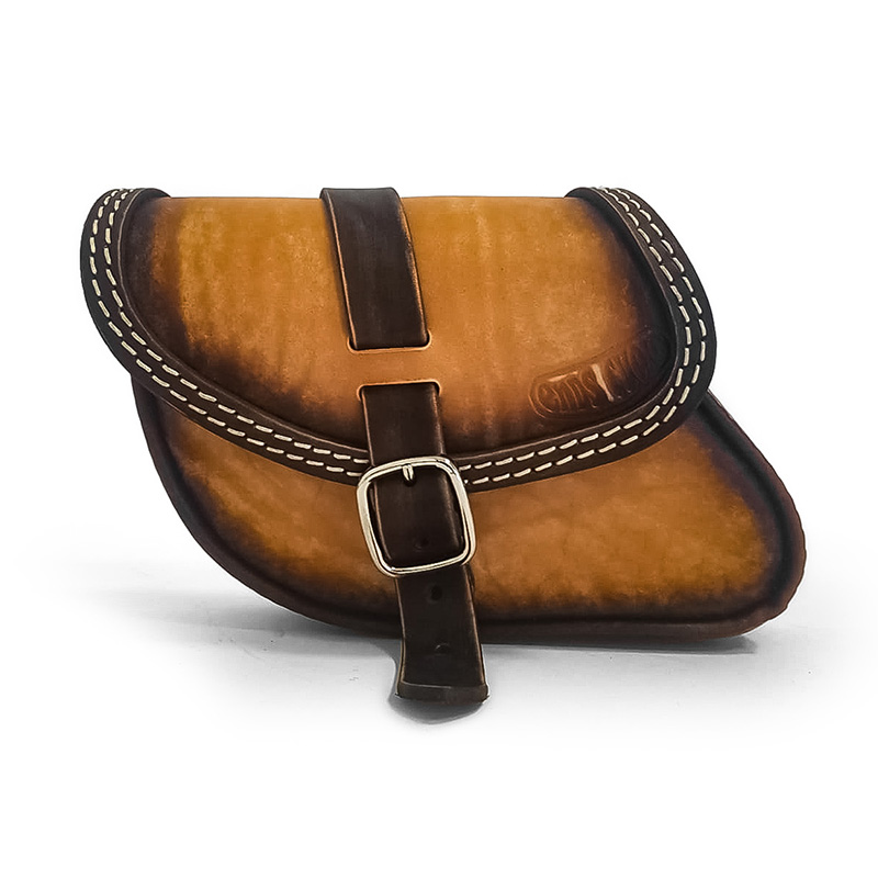 motorcycle leather swingarm bag for indian scout sixty _ scout bobber - ends cuoio paco ttg