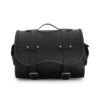 motorcycle sissybar leather bag for harley davidson & indian motorcycle - ends cuoio big sissy ctgr