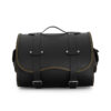 motorcycle sissybar leather bag for harley davidson & indian motorcycle - ends cuoio big sissy ctoc