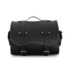 motorcycle sissybar leather bag for harley davidson & indian motorcycle - ends cuoio big sissy ctor