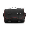 motorcycle sissybar leather bag for harley davidson & indian motorcycle - ends cuoio big sissy ctr