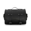 motorcycle sissybar leather bag for harley davidson & indian motorcycle - ends cuoio big sissy ctv