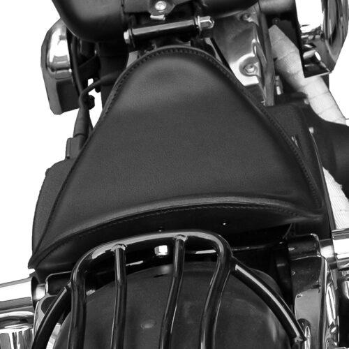 sella in cuoio specifica per moto harley davidson dyna - ends cuoio dyna low