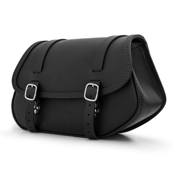 Hamburg right side leather saddlebag for bmw r ends cuoio