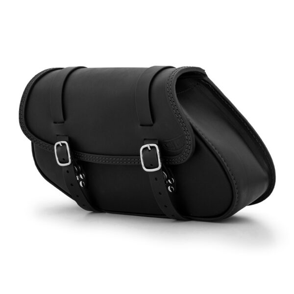 Leather saddle bag for bmw r ends cuoio hamburg