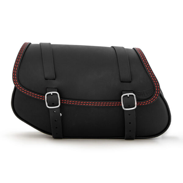 Motorcycle leather side bag for bmw r ends cuoio hamburg