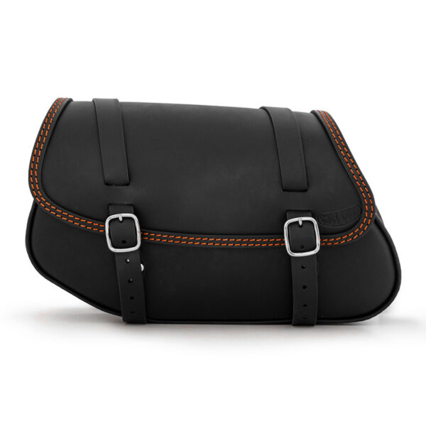Motorcycle leather side bag for bmw r ends cuoio hamburg cta