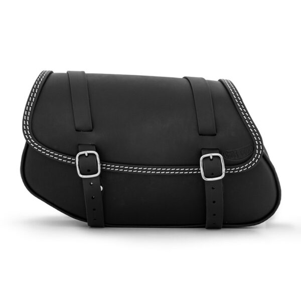 Motorcycle leather side bag for bmw r ends cuoio hamburg ctbi