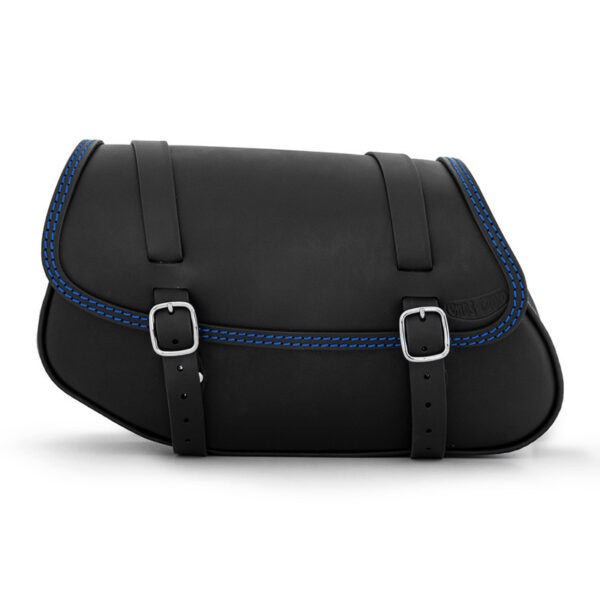 Motorcycle leather side bag for bmw r ends cuoio hamburg ctbl