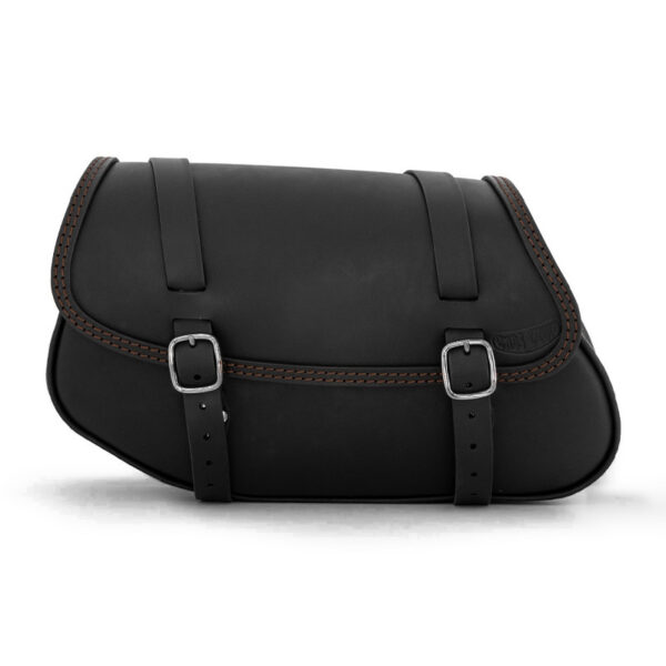 Motorcycle leather side bag for bmw r ends cuoio hamburg ctc