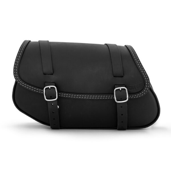 Motorcycle leather side bag for bmw r ends cuoio hamburg ctgr