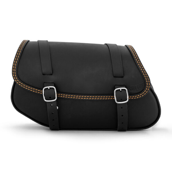 Motorcycle leather side bag for bmw r ends cuoio hamburg ctoc