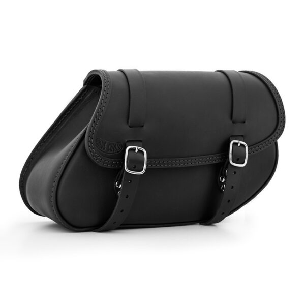 Right side leather saddlebag for bmw r ends cuoio hamburg