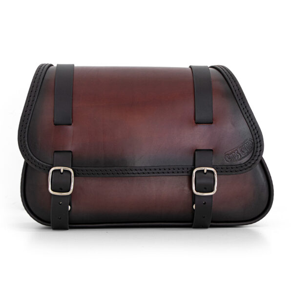 motorcycle leather saddle bag for bmw r ends cuoio munich ttd