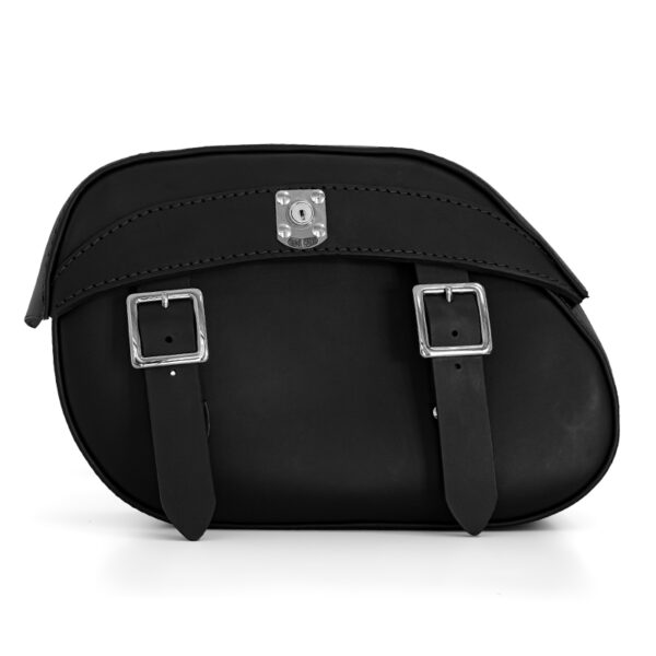 motorcycle leather saddlebag for BMW R ends cuoio berlin ctn lock