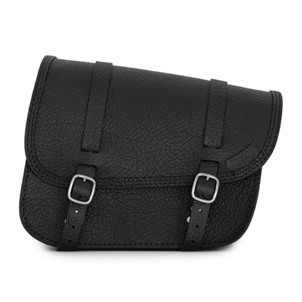 motorcycle leather saddlebag for bmw r 18 - ends cuoio stuttgart anti