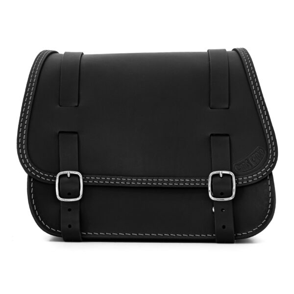 leather saddlebag for harley davidson softail motorcycles ends cuoio little glam ctgr
