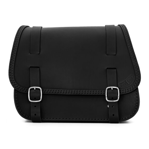 leather saddlebag for harley davidson softail motorcycles ends cuoio little glam ctn