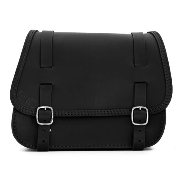 leather saddlebag for harley davidson softail motorcycles ends cuoio little glam ctn dx