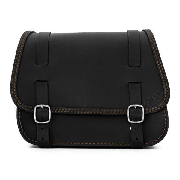 leather saddlebag for harley davidson softail motorcycles ends cuoio little glam ctv