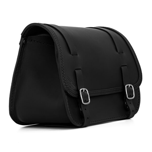 motorcycle leather saddlebag for harley davidson softail ends cuoio little glam ctn dx
