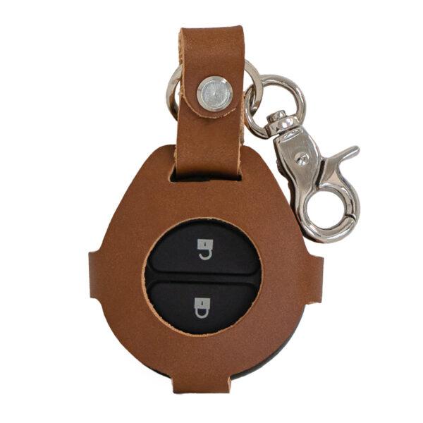 porta telecomando in cuoio specifico per moto indian chief - ends cuoio dt